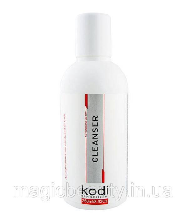 Cleanser Kodi Professional - Жидкость для снятия липкости, 250 мл
