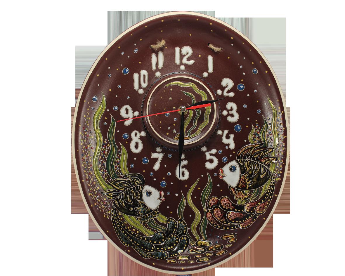 """Часы настенные """"Рыбки"""""""