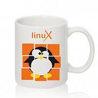Авторская чашка LINUX