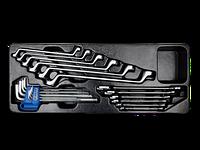 Набор инструментов в лотке 21 предмет  King-Tony 9-90121MR