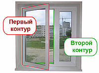 Замена уплотнителя на окнах,установка резины на пластиковых окнах,замена уплотнителя на пластиковых окнах, фото 1