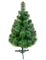 Новорічна штучна сосна 1.3 м (Україна) зелена 2019