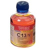 Чернила WWM Canon CL-511/513/441, CLI-426Y/521Y, Yellow, 200 г, с повышенной светостойкостью (C13/Y)