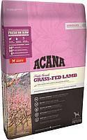 Acana Grass Fed  Lamb 17кг - гипоаллергенный корм для собак  с ягненком и яблоком