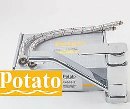 Смеситель для кухни POTATO P4506-2, фото 2