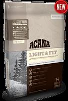 Acana Light & Fit 11,4кг  - облегченный корм для взрослых собак с лишним весом