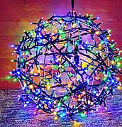 "3D фигура светодиодная ""Шар мульти"", 0.6м, 400LED, 19Вт"