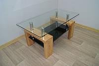 Стеклянный журнальный  стол Престиж мини 100*55 см Сентензо