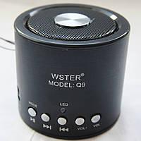 Bluetooth портативная колонка WS Q9 BT+MP3+FM, фото 1