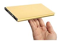 Ультратонкий внешний аккумулятор Power bank 14800mah Slim 2 USB NM