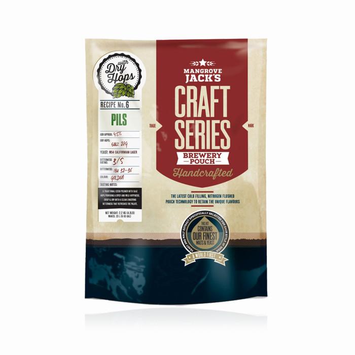 Экстракт пива Mangrove Jack's Pils (2,2кг) с сухим Жатецким хмелем