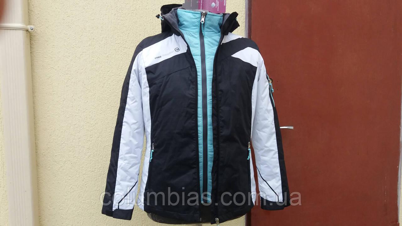 Куртка лыжная женская 3 в 1
