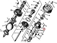 Винт 2А M8x40/22-5,6 БДС 1359-83 204404 Балканкар ДВ1788-ДВ1792