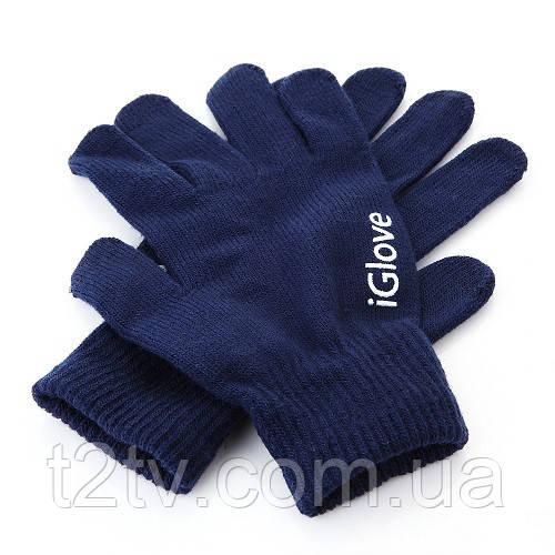 Перчатки для iРhone iGloves Синие