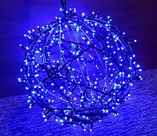 "3D фигура светодиодная ""Шар синий"", 0.6м, 400LED, 19Вт, фото 3"