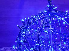 "3D фигура светодиодная ""Шар синий"", 0.6м, 400LED, 19Вт, фото 2"