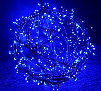 "3D фигура светодиодная ""Шар синий"", 0.6м, 400LED, 19Вт"