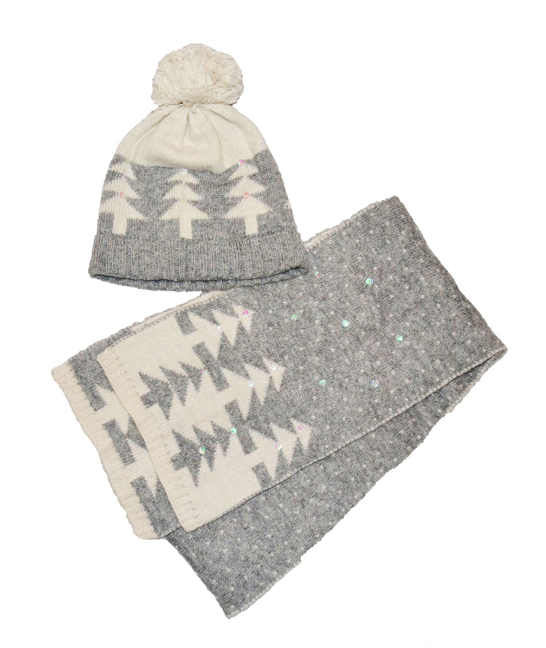 Шапка и шарфик демисезонный для девочки