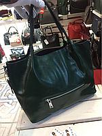 Фабричная женская сумка кожа
