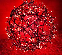 """3D фигура светодиодная """"Шар красный"""", 0.6м, 400LED, 19Вт"""