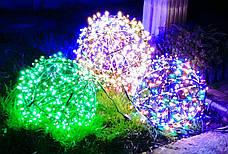 "3D фигура светодиодная ""Шар зеленый"", 0.6м, 400LED, 19Вт, фото 3"