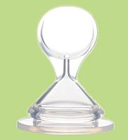 Силиконовая насадка - ложка на бутылочку