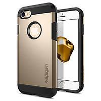 Чехол Spigen для iPhone 8 / 7 Tough Armor, Champagne Gold, фото 1