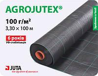 Агроткань AGROJUTEX -100 черная (3,3х100)