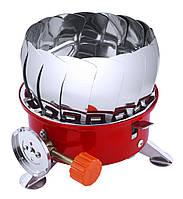 Газовая печка с лепестками маленькая