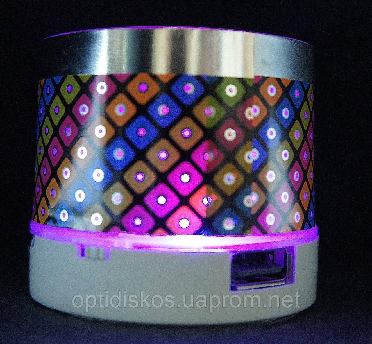 Bluetooth портативная колонка, S-10 LED, model-1
