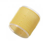 "COMAIR Бигуди-липучки ""Jumbo"" ( уп. 6 шт.), d 66 mm, желтые"