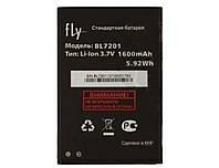 Аккумуляторная батарея (АКБ) для Fly BL7201 (iQ445 Genius), 1600 mAh