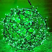 """3D фигура светодиодная """"Шар зеленый"""", 0.6м, 400LED, 19Вт"""