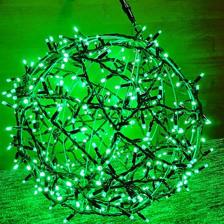"3D фигура светодиодная ""Шар зеленый"", 0.6м, 400LED, 19Вт, фото 2"