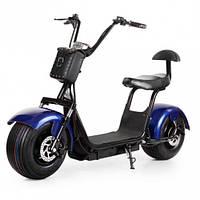 Электробайк  Seev Citycoco Harley (синий)
