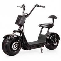 Электробайк  Seev Citycoco Harley (черный)