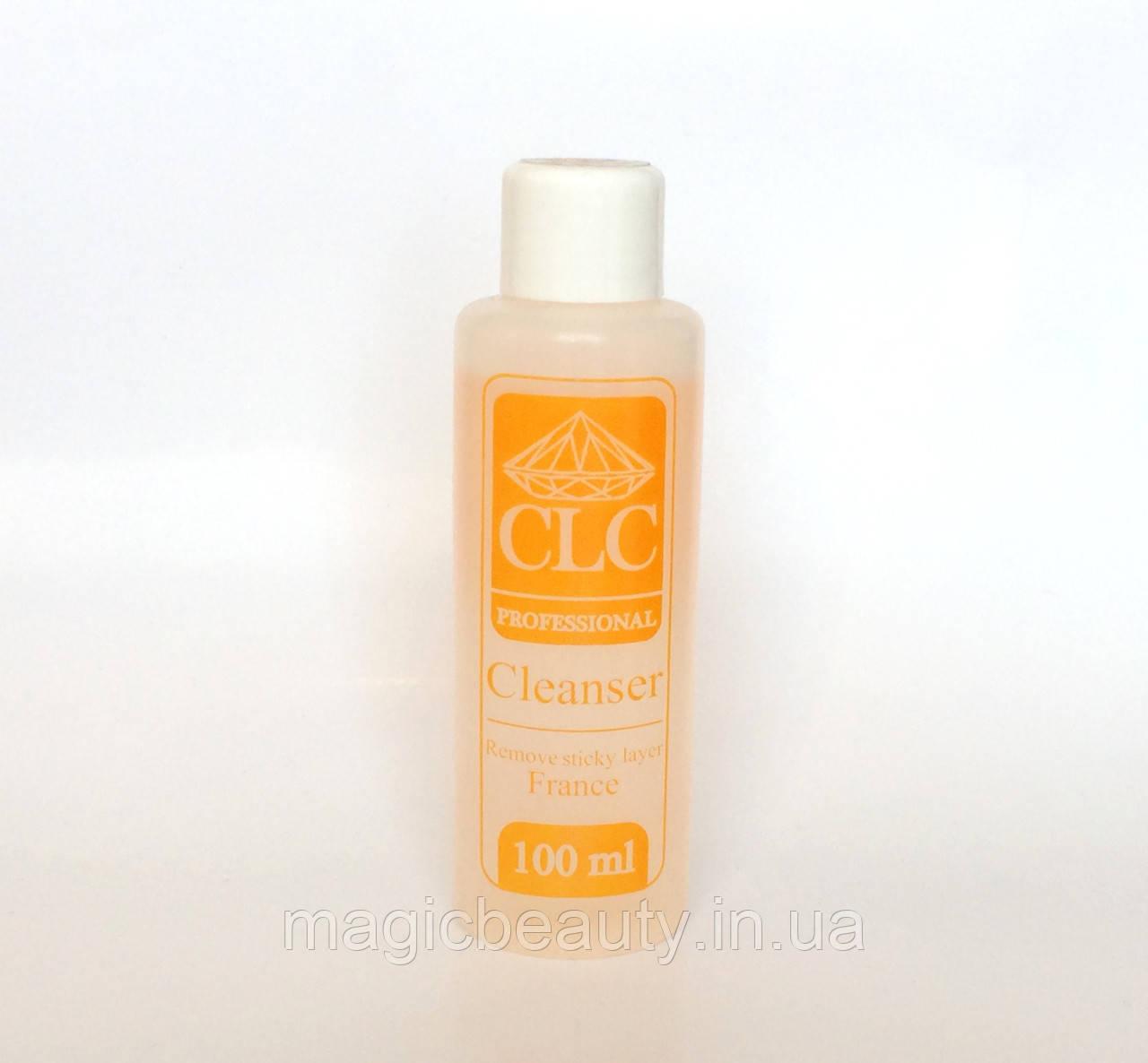 Жидкость для снятия липкого слоя CLC PRO Cleanser 100ml (Апельсин)