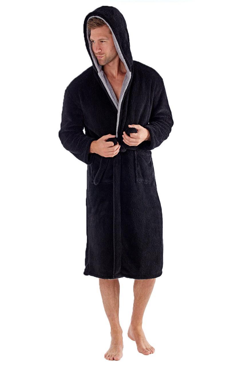 Теплый плюшевый халат . Англия.Harvey James MN000126