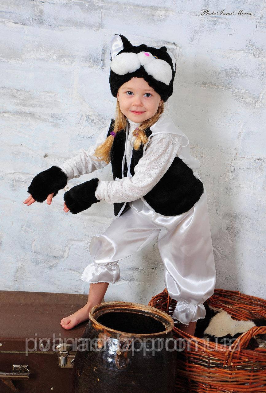 Дитячий новорічний костюм чорного котика