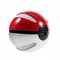 Покебол внешний аккумулятор Power Bank Pokeball 10000 mah FK