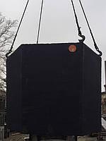 Бетонный однокамерный септик 2,6 м. куб.