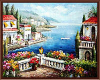 "Картина по номерам ""Вид на залив"" G277 (40*50 см)"
