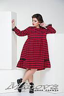 Платье женское ткань фланель №371б-молочный