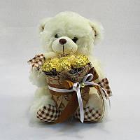 Букет из игрушек Мишка с ферреро роше