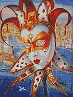 """Схема для вышивки бисером """" Венецианская маска"""""""