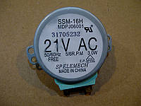 Моторчик вращения тарелки микроволновой печи Samsung DE31-10154D, фото 1