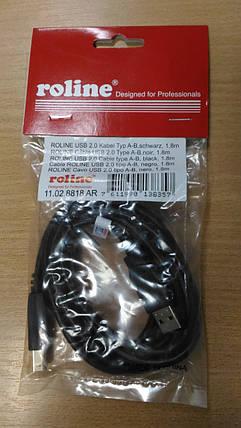 Кабель USB A - USB B 1,8м, фото 2