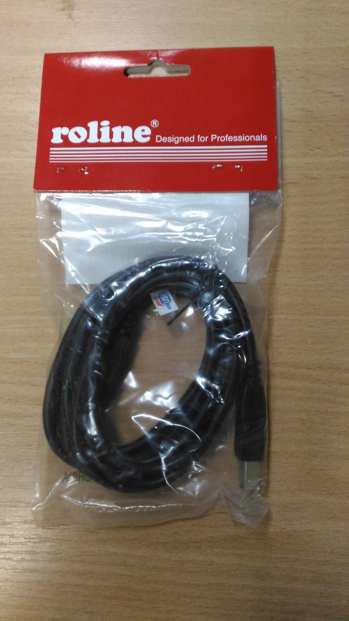 Кабель USB A - USB B 1,8м