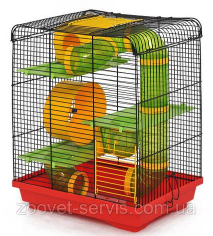 Клетка для грызунов ЛориХомяк-3 Люкс краска, фото 2
