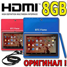 Планшет ОРИГИНАЛ BTC Flame 7029c- 8GB, 6 ядер HDMI